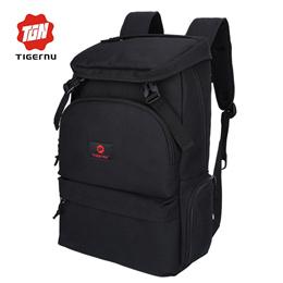 Tigernu fashion men preppy style backpack for youth flap pocket large  capacity daily bag business 15 c163f6deaf02f