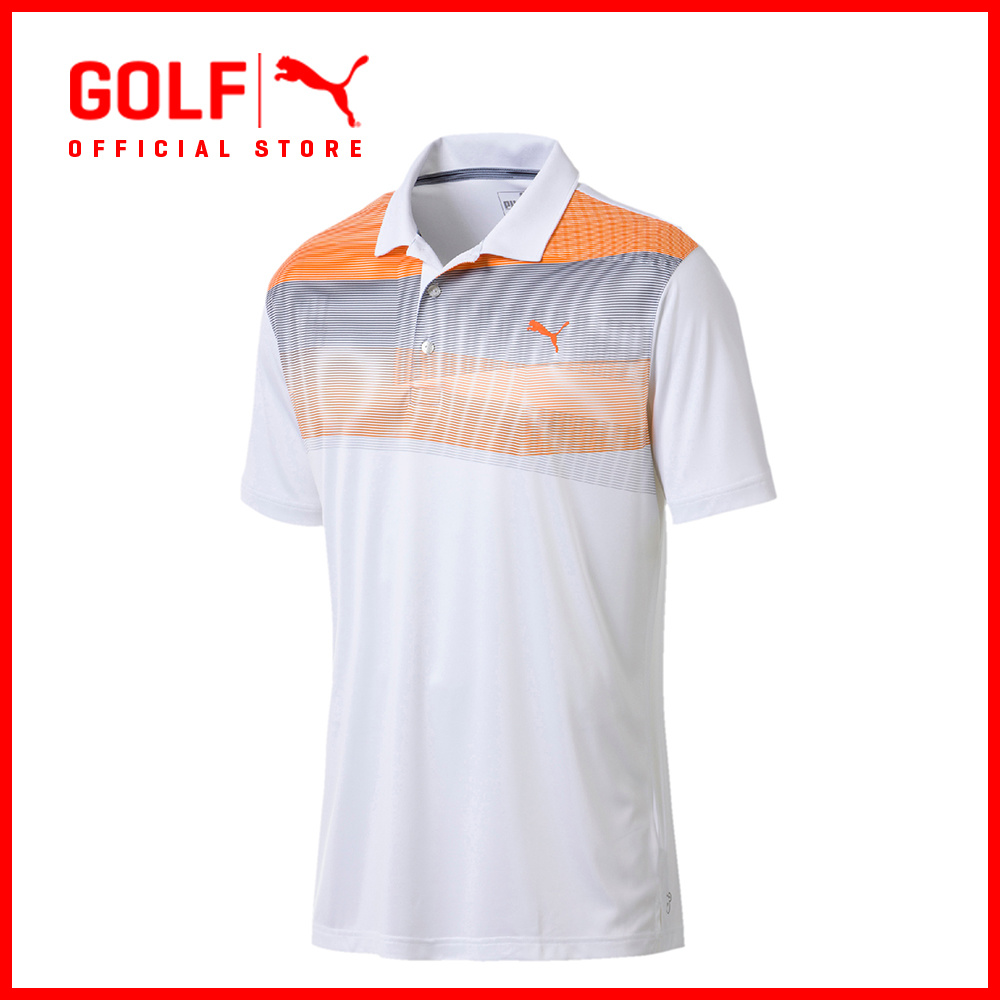 77191e23 fit to viewer. prev next. PUMA GOLF Men PWRCOOL Refraction Polo ...