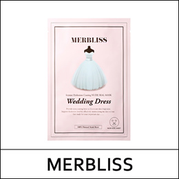 [MERBLISS] ⓙ Wedding Dress Intense Hydration Coating Nude Seal Mask (25g*5ea) 1pack