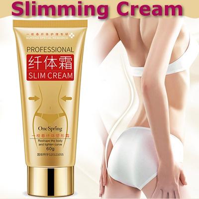 Gold Body Leg Slimming Firming Cream Fat Burning Weight Loss Skin Anti Cellulite Gewichtsverlust