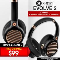 Best Seller !! Online Exclusive Model X-mini™ Evolve 2 Hybrid Wireless Headphone+Speaker