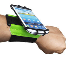 The new TPU rotatable sports mobile phone arm bag, running, cycling, outdoor dual-use mobile phone universal arm wristband