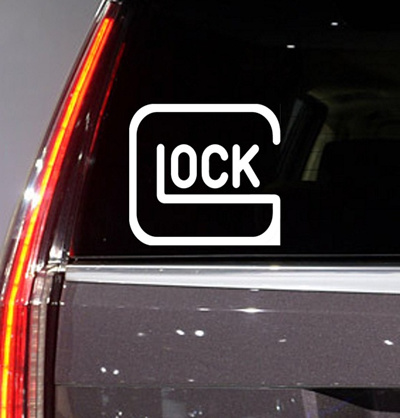 977edc5186b2c3 Qoo10 - Auto - Sticker - Decal - GLOCK GUN - for car