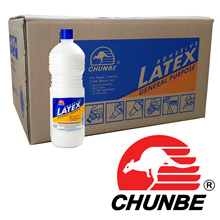 Chunbe Latex White Glue LT1126 1000ml (Ploymer + PVA + Additives) Slime Making 24 bottles