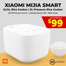 [READY STOCK] Xiaomi MiJia Smart Electric IH Rice Cooker | IH Pressure Rice Cooker