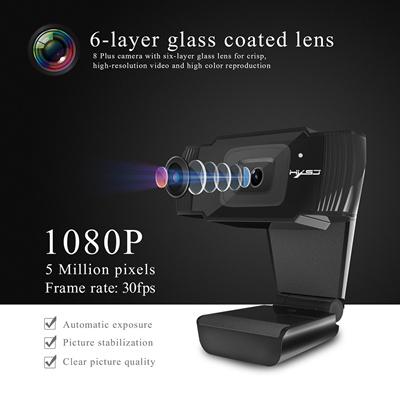HXSJ S70 HD Webcam Autofocus Web Camera 5 Megapixel support 720P 1080 Video  Call Computer Peripheral