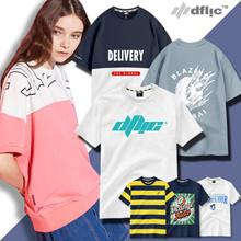 [DFLIC] [Clearance] Unisex Short Sleeve T-shirt plussize/SIZE S-2XL/cotton 100%/nicefit