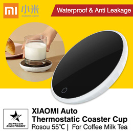 Xiaomi Rosou 55℃ Auto Thermostatic Coaster Cup Heate r| Xiaoda Wireless Charger 55℃ Coaster Cup