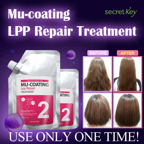 ?1-DAY SUPER SALE? Mu-coating LPP repair Hair treatment /Same effect of expensive salon Deals for only S$21.9 instead of S$0