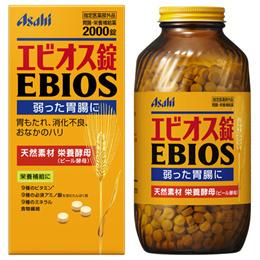 1+1 총2병 4000정 [에비오스] 맥주효모 2000정 병타입 / / 위장약 / 소화불량 / 과음 / 과식 / 남자에게도 좋은 에비오스!