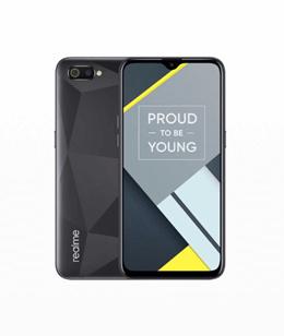 Realme C2 Smartphone [32GB/ 3GB] - Black - Garansi Resmi