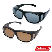 [Coleman] over glasses sunglass