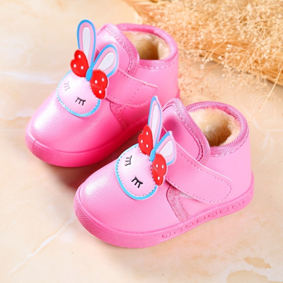 Baby shoes 0-3-year-old winter women baby princess shoes cashmere thickening fae88c18c4