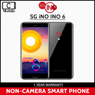 Ready stock SG iNO INO 6 NON-CAMERA SMART PHONE / Local Set with Local  Warranty