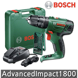 [Bosch] Advanced Impact 1800 [2.0Ah 1 battery] Hammer drill Lithium Ion  400 rpm 1350 rpm