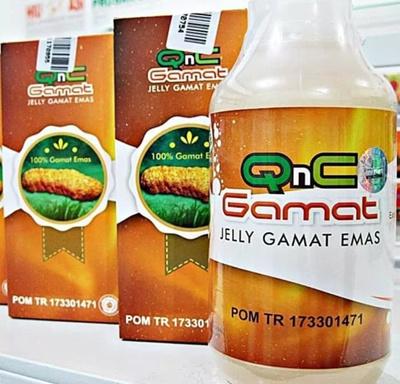 QnC JELLY GAMAT EMAS Original Guaranteed Original | Not Jelly Gamat Gold G SJ0504