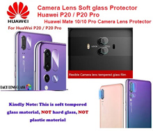HUAWEI P20 / P20 Pro MATE 10/10PRO/ 9 /P10/ P10 PLUS Camera Lens Soft Glass Screen Protector