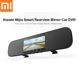 Xiaomi 5 Inch Smart Rearview Mirror Car DVR Sony IMX323 with Voice Control 160Degree Car Dash Cam