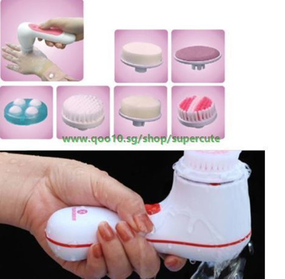 Bestseller Newest 6 in 1 Multi-Function Facial Cleansing Massager Beauty Device Face Massage