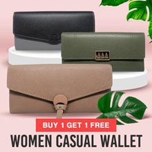 Casual Wallet - Dompet Wanita Import