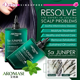 【Aromase Shampoo♥♥♥】 Anti Oil / Anti Itchy / 5a Intensive / 5a-Juniper Scalp♥