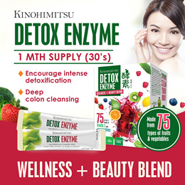 [1MTH SUPPLY]Detox Enzyme 30s #75 Types of Fruits n Veg