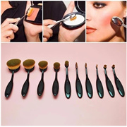 10Pcs Makeup Brushes Set Powder Foundation Eyeshadow Eyeliner Lip Cosmetic Brushes Maquiagem