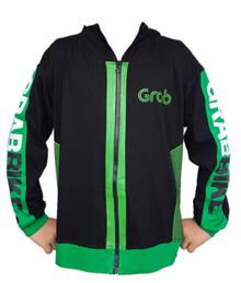 Baju Jaket Hoodie Anak Grab Bike GrabBike SJ0088 k003