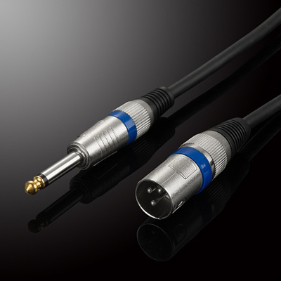 6 35mm Male to XLR Male Audio Cable TRS XLR Audio Wire Mono OFC Audio Cable  For Microphone Mixer DVD