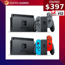 [$397 after Qoo10 Coupon] Nintendo Switch Console + 1 Year Local Warranty from Maxsoft SG