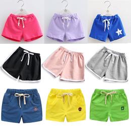 ★Many Designs★ Boys Girls Children Kids Cotton Denim Shorts Sz 90-160
