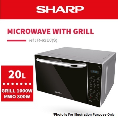 Qoo10 sharp official microwave oven with grill r 62e0s small sharp official microwave oven with grill r 62e0s fandeluxe Images