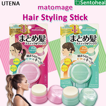 [UTENA] Matomage Hair Styling Stick Regular/ Strong Hold 13g- Style Hair/ Stick Wax
