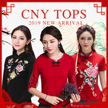 2019 New arrival  Qipao cheongsam/party dress/Traditional Stylish Fashion【BUY 2 FREE SHIPPING