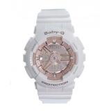 Casio Baby-G BA-110-7A1 Cool Design Analog Digital White Resin Ladies Watch