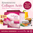 LAST DAY Kinohimitsu Collagen Activ Powder 30s (1 MONTH SUPPLY) TRAVEL FRIENDLY Mix with Anything!