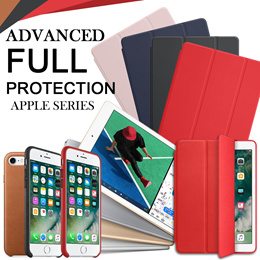 [JD Mall]★APPLE★Advanced Full Protection PU Leather Case For iPad iPhone