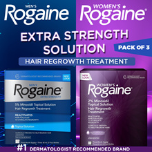 Rogaine Hair Loss Hair Thinning Treatment Minoxidil Solution