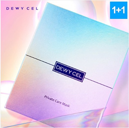Dewy Cell Premium Private Care Mask 1+1 Total 14P - Plant Stem Cell Whitening Mask K Beauty Korea