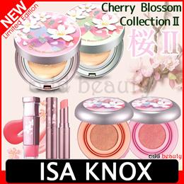 [ISA KNOX] 2017 Cherry Blossom Edition Micro Foam Cushion / blusher/ Lip stick /balm /makeup