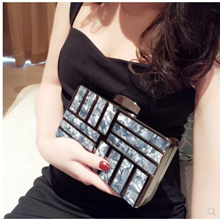 New dress ladies socialite bag cheongsam handbag female clutch bag after years high-grade wild Messe