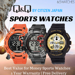 1c94a63141c0b QnQ Sports Watches (by Citizen Japan) - Best Value for Money Sports Watch.