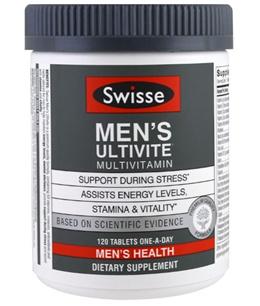 Swisse Mens Ultivite Multivitamin Mens Health 120 Tablets