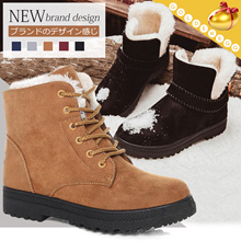 Enjoy Winter~! (35-44 PLUS SIZE)◆CNP Fashionable n Warm Martin Boots for WOMEN◆Suede Fur Boots/ Knight Boots/ Keep Warm Shoes/ Colorful/ Travel/ 2 Designs