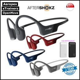 [SG] AFTERSHOKZ Open-Ear Wireless Bone Conduction Headphones ★Aeropex★xTrainerz★OpenComm★OpenMove