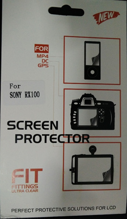 *Singapore Seller* SONY RX100/RX100MKII/RX100MKIII Screen Protector