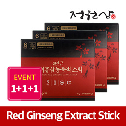 ★1+1+1 event★ Korean 6 Years Red Ginseng Extract Stick (10gx30sticks)/improving immunity