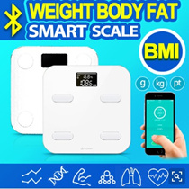 ★ NEW !!★ Smart Bluetooth Weighing Scale with BMI Fat Muscle Water Bone Density Measurement