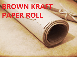 BROWN KRAFT PAPER -- For Parcel  Tailor Clothing etc