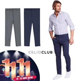 11.11 Just in! Celio Club Mens Slim Pants 100% Original   Office Pants   abe6eca6a3988